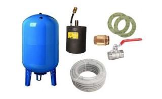 Accessoires hydrauliques pompes à eau