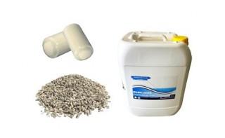 Produits de traitement des eaux